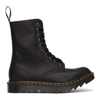 Dr. Martens Black Made In England Ripple 1490 Boots