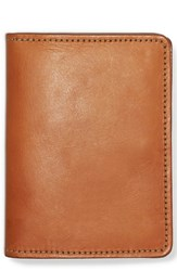 Filson Leather Passport Case Brown Tan Leather