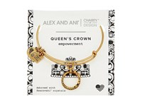 Alex And Ani Charity By Design Queen's Crown Bangle Rafaelian Gold Bracelet