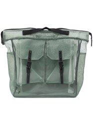 Ally Capellino Frank Sheer Backpack Green