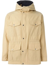 Soulland 'Reid' Logo Jacket Nude And Neutrals