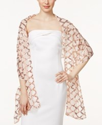 Collection Xiix Double Diamond Evening Wrap Pale Pink
