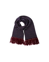 White Mountaineering Accessories Oblong Scarves Men Maroon