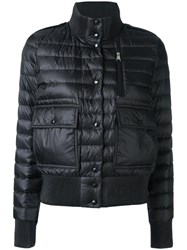 Moncler Cropped Padded Jacket Black