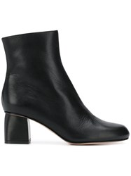 Red Valentino Classic Ankle Boots Black