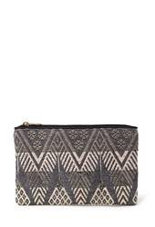 Forever 21 Tribal Inspired Embroidered Clutch