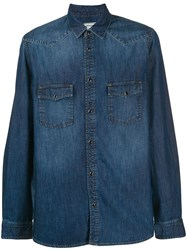 Zadig And Voltaire Stan Denim Chemise Blue