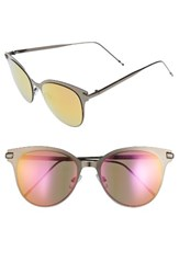 Women's Bp. Mirrored Sunglasses