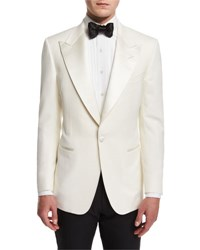 Tom Ford Windsor Base Dinner Jacket White