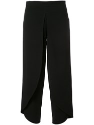 Rodebjer Cropped Trousers Black
