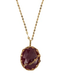 Lana Spellbound Pink Sapphire Pendant Necklace