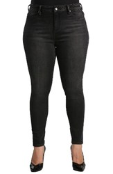 Standards And Practices Plus Size Women's Parker Mid Rise Skinny Jeans