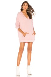 Wildfox Couture Pierce Hoodie Dress Rose