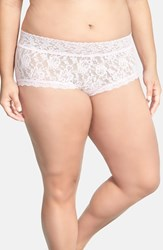Plus Size Women's Hanky Panky Boyshorts Bliss Pink