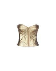 Moschino Cheap And Chic Moschino Cheapandchic Tube Tops Gold