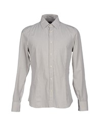 Gazzarrini Shirts Shirts Men Ivory