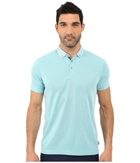 Ted Baker Missow Polynosic Polo Mint Men's Clothing Green