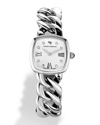 Albion 23Mm Quartz With Diamonds David Yurman Silver