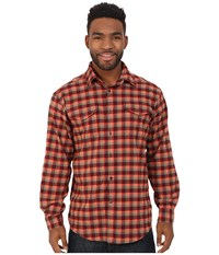 Mountain Khakis Peaks Flannel Shirt Plum Men's Clothing Purple