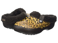 Crocs Classic Blitzen Ii Animal Clog Gold Espresso Clog Shoes