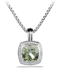 Albion Pendant With Prasiolite And Diamonds David Yurman Prasiolite Dia