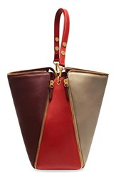 Mulberry 'Camden' Colorblock Smooth Leather Hobo
