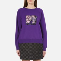 Marc Jacobs Women's Mtv Raglan Sweatshirt Purple