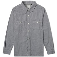 Orslow Work Shirt Blue