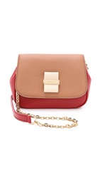 See By Chloe Rosita Mini Cross Body Bag Red Milk Nougat