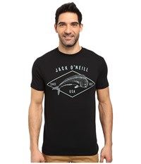 O'neill Mahi Short Sleeve Screen Tee Black Men's T Shirt