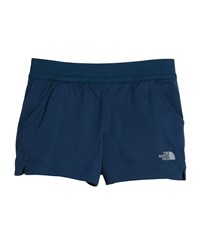 The North Face Aphrodite Lightweight Hiking Shorts Size Xxs Xl Blue