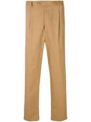 Lc23 Loose Fit Trousers Brown