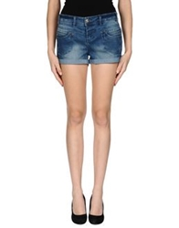 Lipsy Denim Shorts Blue