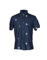 S.O.H.O New York Soho Denim Denim Shirts Men Blue