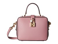 Dolce And Gabbana Top Handle Handbag Pink