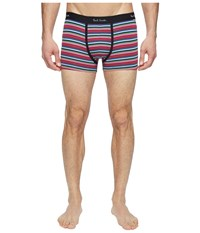 Paul Smith Striped Low Rise Boxer Brief Red Men's Underwear