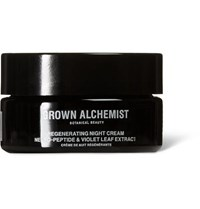 Grown Alchemist Regenerating Night Cream Neuro Peptide And Violet Leaf Extract 40Ml Colorless
