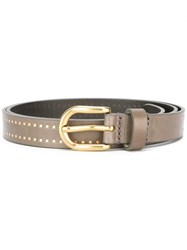 Isabel Marant 'Kane' Belt Brown