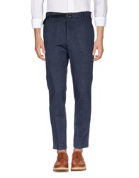 .. Beaucoup Casual Pants Dark Blue