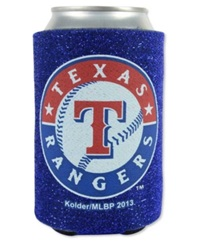 Kolder Texas Rangers Glitter Can Insulator Team Color