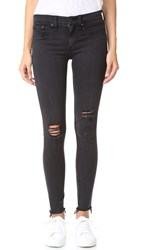 Rag And Bone The Legging Jeans Night W Holes