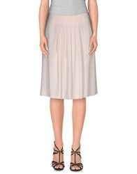 Max Mara Studio Skirts Knee Length Skirts Women Ivory