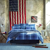 Tommy Hilfiger Check Denim Spirit Duvet Cover Blue