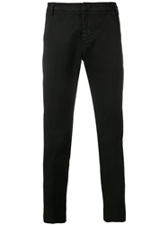Entre Amis Cropped Chinos Black