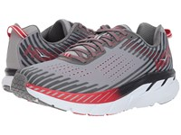 Hoka One One Clifton 5 Alloy Steel Gray Running Shoes Multi