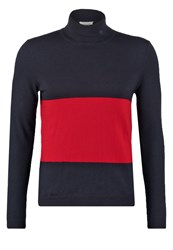 Wood Wood Jaques Jumper Dark Navy Dark Blue