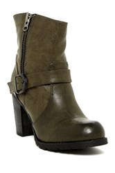 Modern Rebel Colomba Bootie Brown