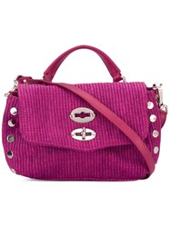 Zanellato Tote Bag Pink Purple