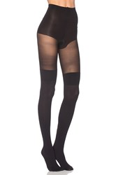 Pretty Polly Cable Secret Sock Black