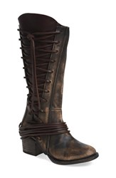 Freebird Women's By Steven 'Cash' Tall Boot Brown Multi Leather